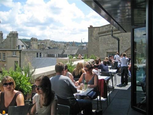 Jamies Italian Restaurant in Bath - The Terrace