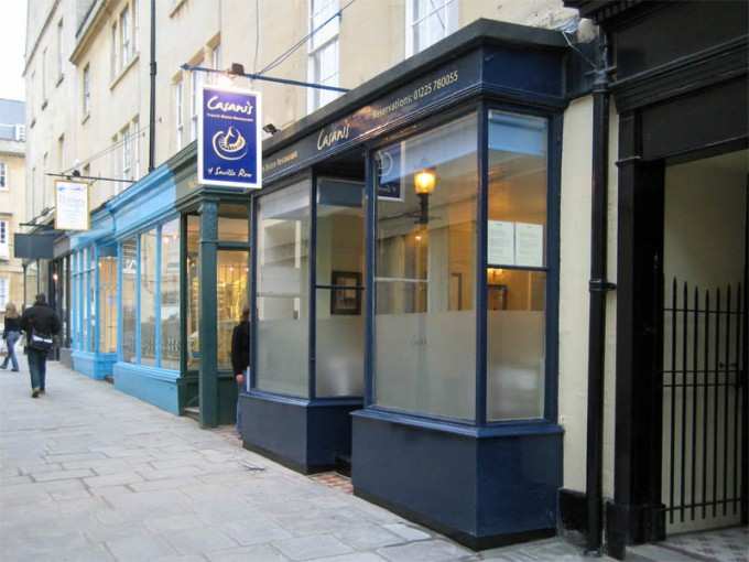 Casanis French Restaurant - Bath