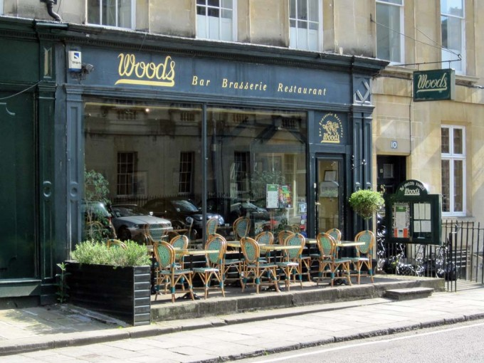 Woods Restaurant - Bath