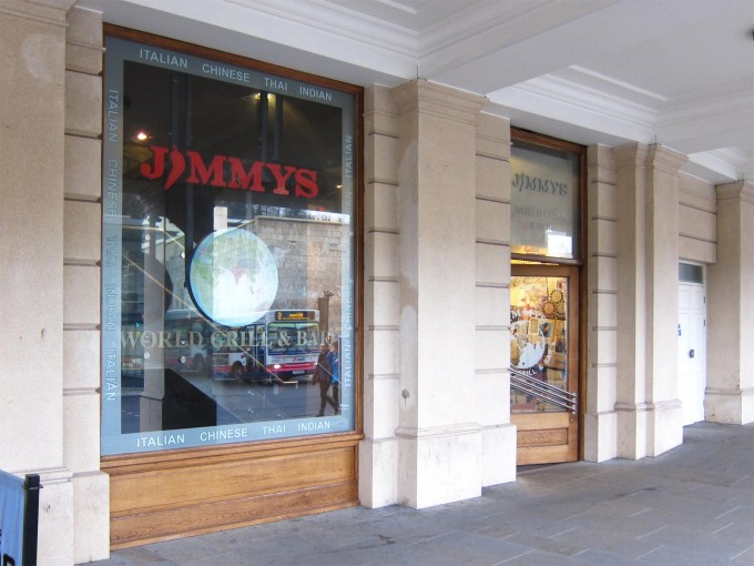 Jimmys World Grill - Bath