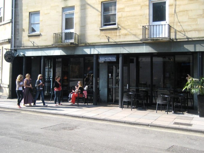 Pizza Express - Barton Street, Bath