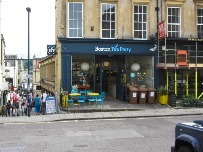 Boston Tea Party - Bath