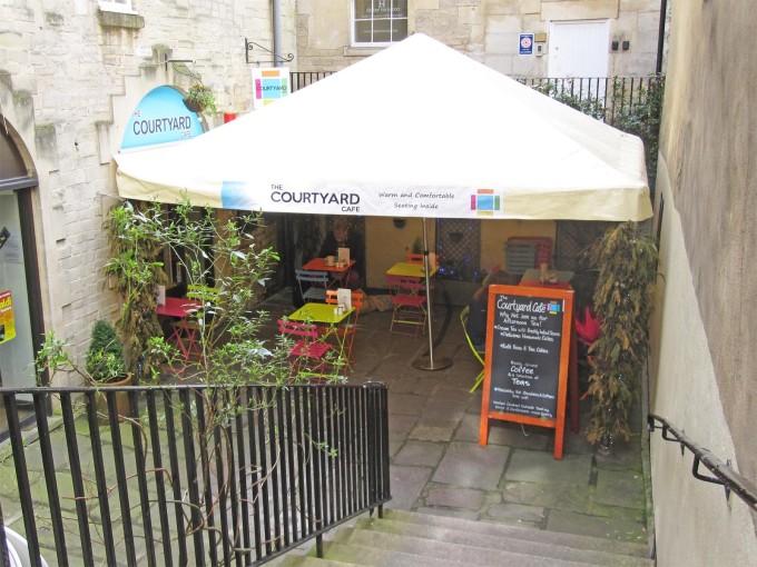 Courtyard Cafe  - Bath