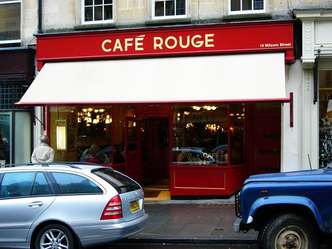 Cafe Rouge - Bath