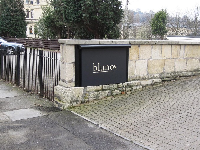 Blunos Restaurant at the County Hotel Bath