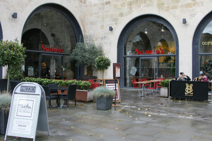 Nandos Bath Vaults